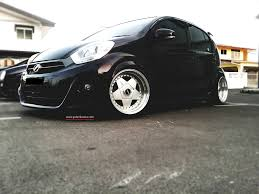 subaru justy stance myvi purple lowered share my ride gk154 galeri kereta