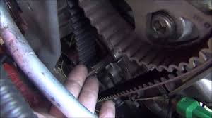 changing timing belt 2001 suzuki swift part 4 youtube
