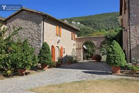 Walled Garden For Sale by Traditional Villa With Apartments For Sale In Umbria