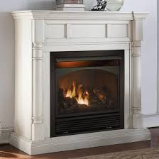 ventless gas fireplace insert safety smells like logs smell