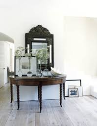 furniture awesome wall mirror and dry floral arrangement with