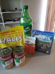 care package for a sick friend been sick all week best friend dropped care package with