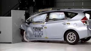 toyota prius v safety rating 2015 2017 toyota prius v prius iihs narrow overlap crash test
