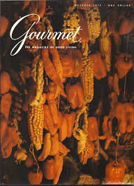 vintage gourmet magazine october 1979 etsy magazines and october