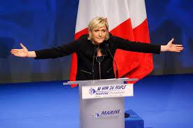 si e front national le pen setzt auf das motto frankreich zuerst international