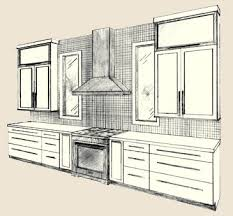 Kitchen Design Drawings Modern Kitchen Design Entertainment Office Bath Kitchen