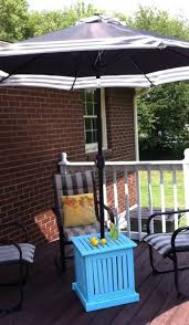 patio umbrella stand side table umbrella stand for patio table under ground