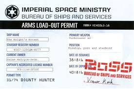 bureau ordo zaine halcyon ordo ship weapons permit by zaineordo on deviantart