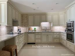 led lights for kitchen cabinets do you prefer warm cool or daylight lighting for your kitchen