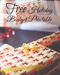 get more holiday savings with this free holiday budget printable