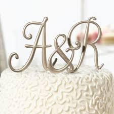 gold letter cake topper diy monogram cake topper gold monogram cake topper gold monogram