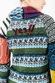 desigual diana patchwork sweater from hawaii by hurricane limited