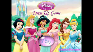 princess dress up games girls games youtube