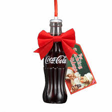 4 5 coca cola bottle with gift tag ornament walmart