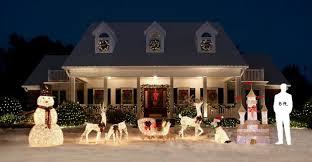 exquisite reindeer yard decorations wondrous santa