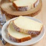 southern cream cheese pound cake i am baker