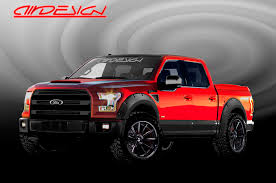 Ford F150 Truck Tires - modified ford f 150 trucks head to the 2015 sema show