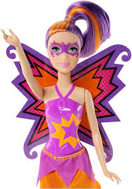 amazon com barbie in princess power butterfly doll purple toys