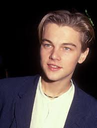 center part mens hairstly leonardo dicaprio s curtained hair in the 1990 s falling above