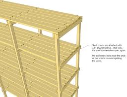 Basement Wooden Shelves Plans by 227 Best Build It Plans Images On Pinterest Woodwork Diy And
