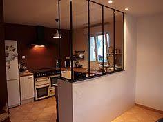 separation verriere cuisine une séparation façon atelier maison travaux cuisine