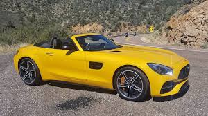 mercedes pic 2018 mercedes amg gt c roadster 7 impressions the drive