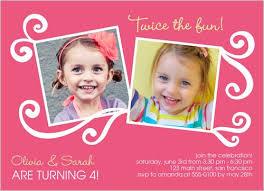 twin birthday invitation craft ideas pinterest twin birthday
