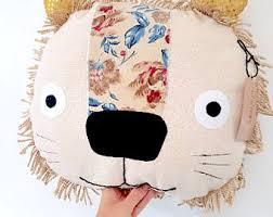 Lion Decor Home Lion Cushion Etsy Uk