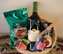 build your own gift basket 1 bottle gift basket build your own st clair winery