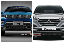 jeep compass length jeep compass vs hyundai tucson price specs features