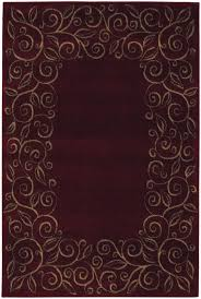Round Burgundy Rug Bathroom The Stylish Burgundy Area Rug For House Designs Cream