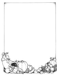 fall border clipart black and white clipartxtras