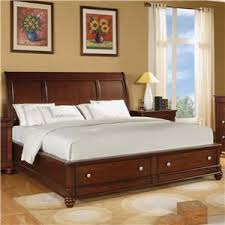 Sleigh Bed With Drawers Olmsted 1784 By Flexsteel Wynwood Collection Ahfa Flexsteel