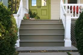 Outside Entryway Decor Dazzling Front Steps Design Ideas Including Grey Color Step Plus