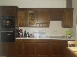 echtholzküche echtholz küche sehr gut gepflegt 500 3443 kronstein