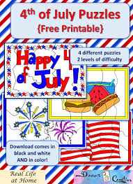 printable 4th of july puzzles real life at home