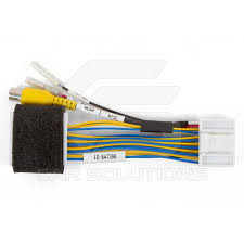 car camera connection cable to toyota touch 2 monitor