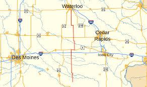 Map Of Iowa Towns Iowa Highway 21 Wikipedia