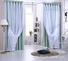 myru pastoral lace curtains romantic living room bedroom curtains
