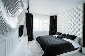 chambre à coucher blanc et noir noir et blanc 40 chambres à coucher qui font rêver