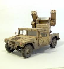 armored hummer pro built 1 35 hummer aa avanger gulf war ebay