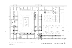 Orange County Convention Center Floor Plan Gallery Of Daxinganling Culture And Sports Center Had Architects
