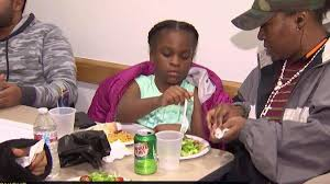 families displaced by nyc get thanksgiving meals nbc new york