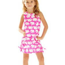 Girls Little Lilly Classic Shift Dress From Lilly Pulitzer