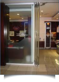 glass stacking doors at crystal showers frameless glass doors