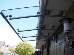 balkon vordach edelstahl vordach