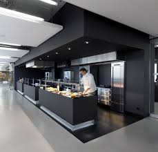 Ceiling Tiles For Restaurant Kitchen by Commercial Kitchen In A Campus The Soffits Are Amazing In This