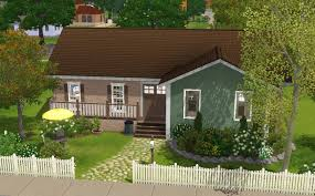sims 3 house building family cottage youtube