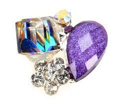 10 pcs artistic 3d nail decoration glitter nail alloy jewellery