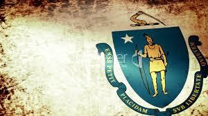 Massachusetts how to travel the world for free images Massachusetts state flag waving grunge look royalty free video jpg